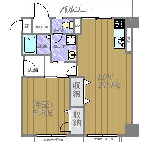 ユアサハイム帝塚山 フルリフォーム済 新品家具、インテリア、照明器具付