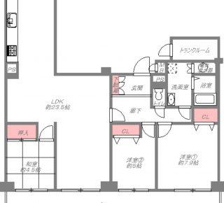 帝塚山グリーンハイツB棟5号館